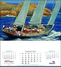 Beken calendars sailing calendars
