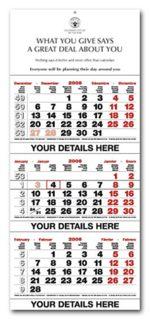 Printed Shipping Calendars