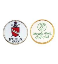 Logo Branded Brass Markers