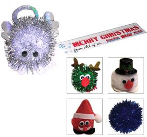 Christmas Logo Bugs