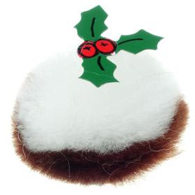 Christmas Pudding Logo Bug