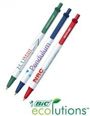 Printed Bic Eco Pen