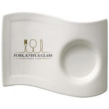 Boost your Brand-name with our Logo Branded Party Cafe Saucers
