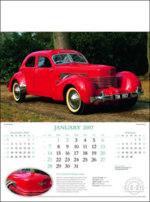 Collectors cars calendar 2022 with logo.