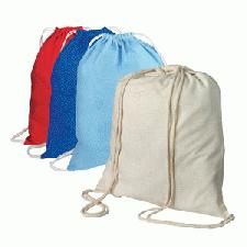 Personalised Cotton Rucksack