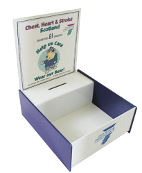 A5 Display Box with Logo