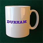 Personalised Durham Coffee Mug