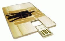 Printed USB Memory Business Card