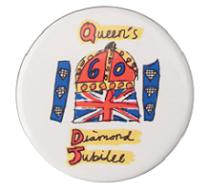 Printed Diamond Jubilee Badges