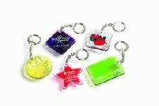 Various shaped keyrings
