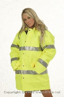 High Visibility Jacket With Logo