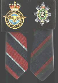 School Tie with Embroidered Logo