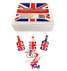 Personalised Diamond Jubilee Party Poppers