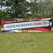 Party Banner for Diamond Jubilee