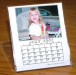 CD calendar cases with logo