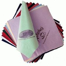 Napkins with personalised printing