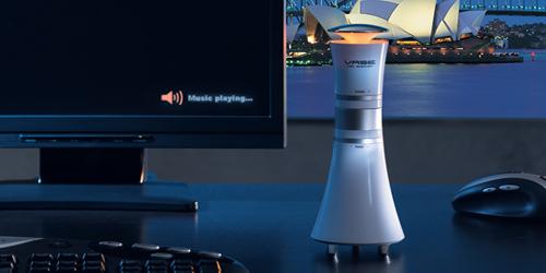 USB Vase speaker with logo