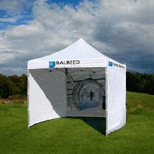 3m x 3m Mini Marquee With Sides And Roof