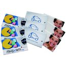 Printed Credit Card Dental Floss Packs