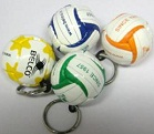 Custom Euro 2012 Football Keyrings
