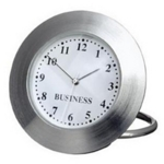 Desk clocks with logo