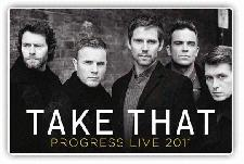 Take That Concert Tickets with Robbie Williams for the 2014 Tour and 2014