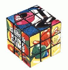 Imprinted Rubix Cubes
