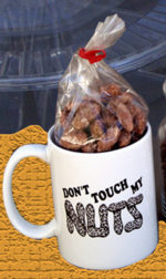 Personalised chocolates in a mug