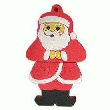 Imprinted USB Father Christmas Flash Drives
