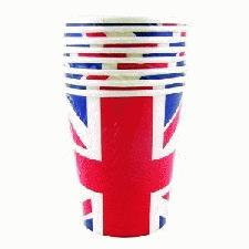 Diamond Jubilee Printed Paper Cups
