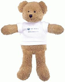 Scraggy Bear with Advertising T-Shirt