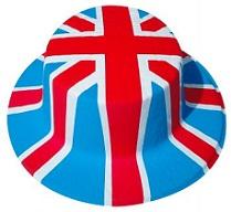 Queen Jubilee Union Jack Hats