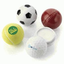 Promotional Sports Ball Balm & Lotion