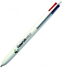 Logo Branded Multi-Colour Pens