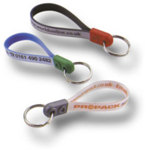 Ad loop key ring