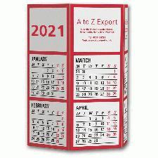 Desk Calendar Pen Pot with Printed Company Details