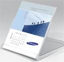 Calendar CD cases with logo