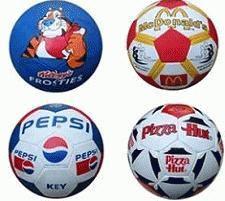 Footballs with Branding