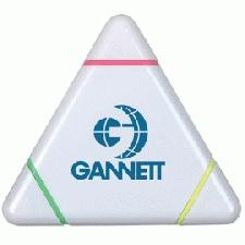 Personalised triangular highlighter pen