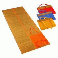 Straw Beach Mat With Logo