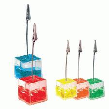 Gel Cube Memo Clip With Logo