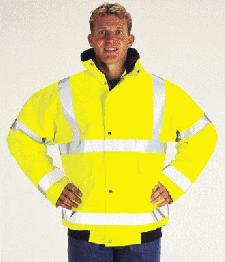 Logo Branded Hi Vis Safety Jackets