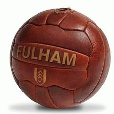 Classic Logo Branded Leather Football