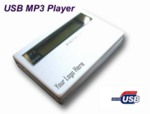 Mp3 player with logo