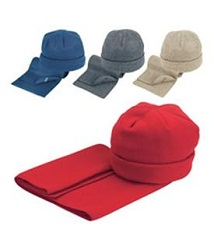 Promotional Hat Scarf Set