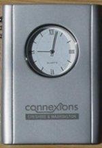 Personalised desk clocks