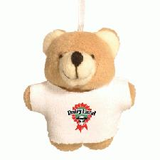 Titchy Bear with Advertising T-Shirt