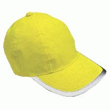 Hi Vis Baseball Caps with Logo
