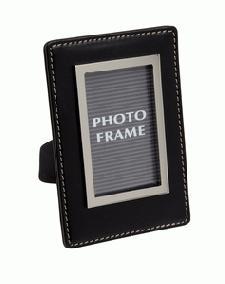 Black PU Photo Frame