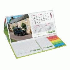 Calendar Pod Desk Calendar with Post-it Notes, Page Markers and Note Pad